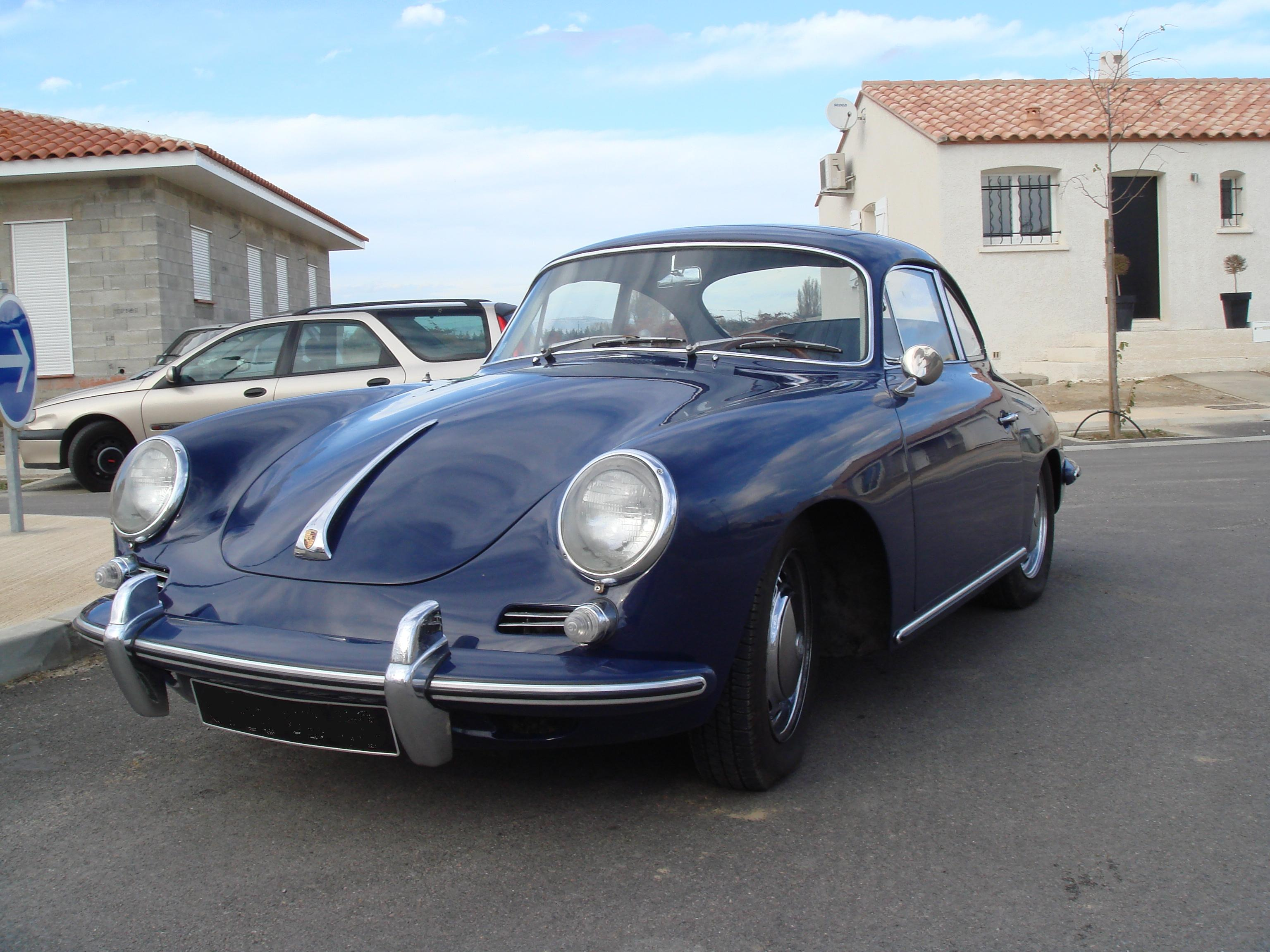 une porsche 356 c coup avec toit ouvrant electrique passion 356. Black Bedroom Furniture Sets. Home Design Ideas