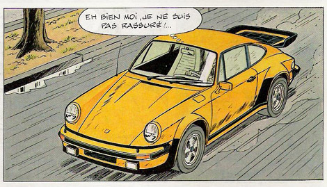 La porsche 911 coup de ric hochet passion 356 for Plans de dessins de porche